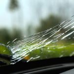 Broken Windshield in Fuquay-Varina, North Carolina
